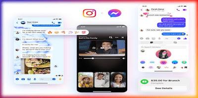 تطبيق ماسنجر فيسبوك Facebook Messenger يحصل على مظهر جديد