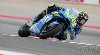 Hasil FP2 MotoGP Amerika Serikat: Iannone Tercepat, Rossi Keempat