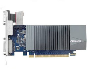 Low profile graphics card with steel cooling factor