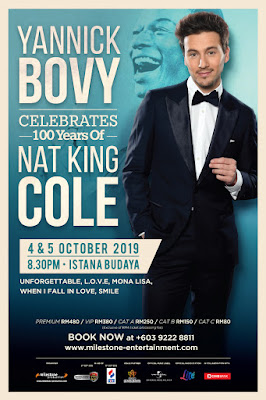 [Upcoming Event] YANNICK BOVY CELEBRATES 100 YEARS OF NAT KING COLE