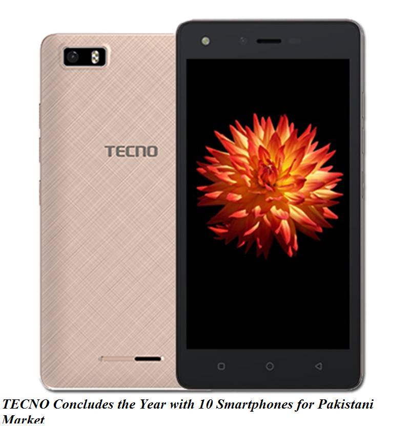 TECNO Concludes the Year with 10 Smartphones for Pakistani Market