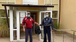 Un bărbat din Calafat a găsit un rucsac pe stradă și l-a dus la poliție