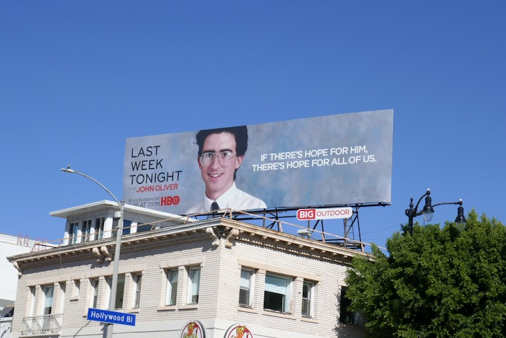 Last Week Tonight season 7 billboard