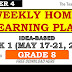 WEEK 1 GRADE 8 Weekly Home Learning Plan Q4