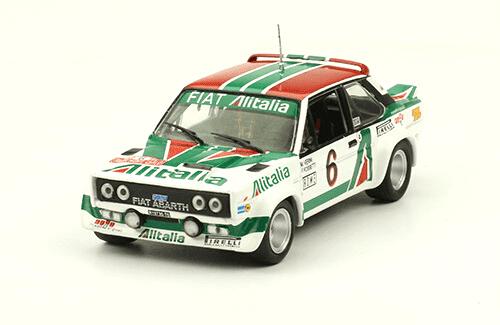 collezione rally monte carlo Fiat Abarth 131 Rally 1978 M. Verini  - F. Rossetti