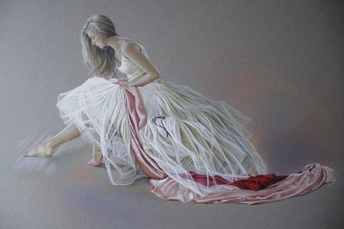 Пастели на тему балета. Kay Boyce 7