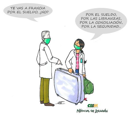 """""""NO QUIERO EL SUELDO DE OTROS PAÍSES; QUIERO SUS CONDICIONES LABORALES"""""""