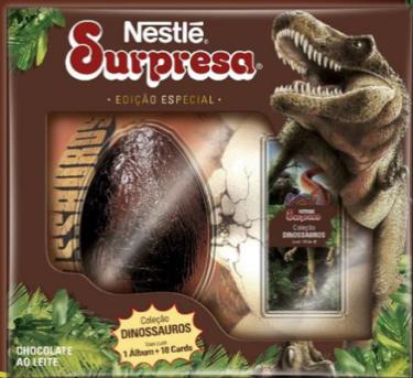 "Nestlé apresenta chocolate ""Surpresa"" em ovo de páscoa"