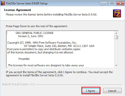 FileZilla License