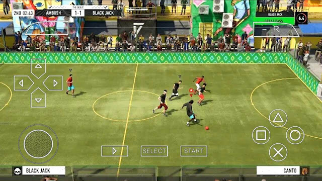 Download FIFA STREET 2021 PPSSPP Android Offline 160Mb Best Graphics