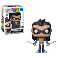 Pop! Television: Teen Titans Go! Robin as Nightwing with baby