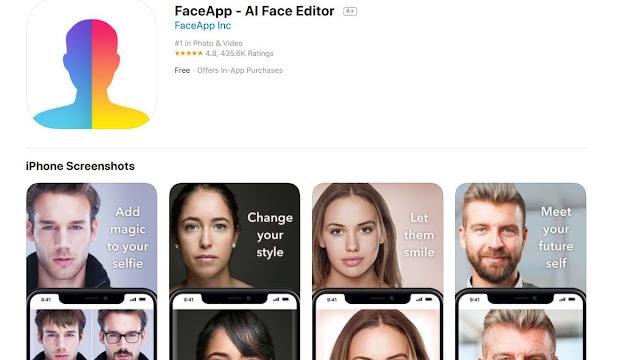 Cara Menggunakan Aplikasi FaceApp Versi Pro Secara Gratis
