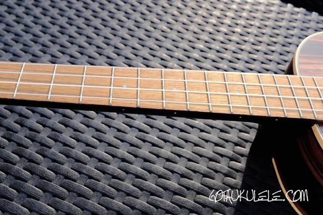 Kala KA-EBY-T Ukulele fingerboard