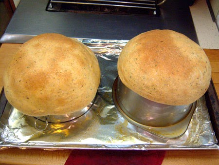 Make Bread Bowls! baked dough