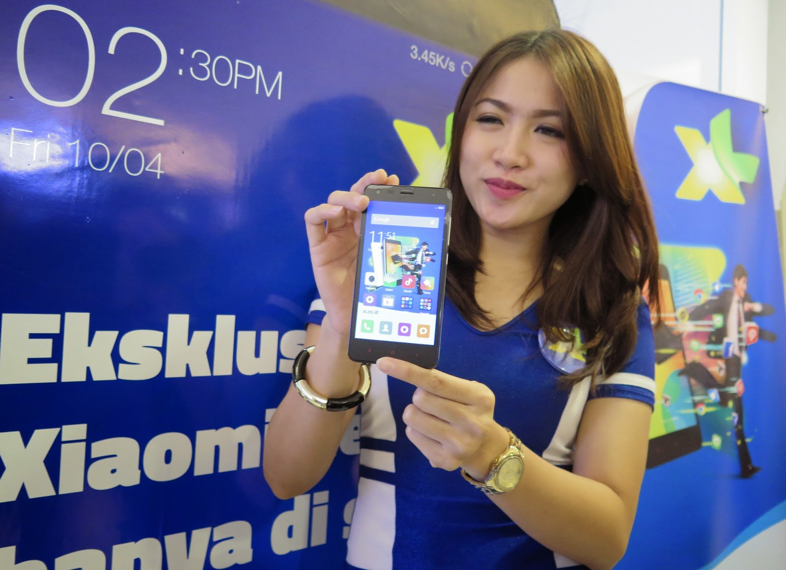 XL Gandeng Xiaomi Luncurkan Bundling Smartphone Redmi 2