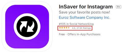 Cara Download Video Instagram Di iPhone - insaver for ig