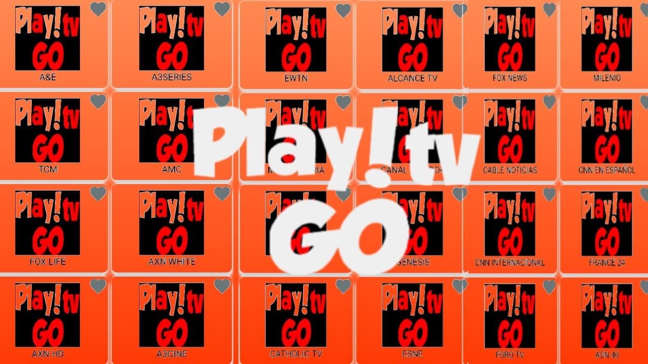 تطبيق play-go لمشاهدة القنوات اللاتينية مشفرة مجانا