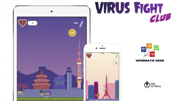 Jogue o Virus Fight Club e evita o contágio.