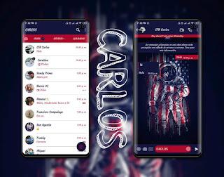 Astronauta Theme For YOWhatsApp & Fouad WhatsApp By Carlos