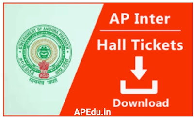 Andhra Pradesh Board of Intermediate Education-APBIE Exam Hall  Tickets Release.   Students can download Hall Tickets