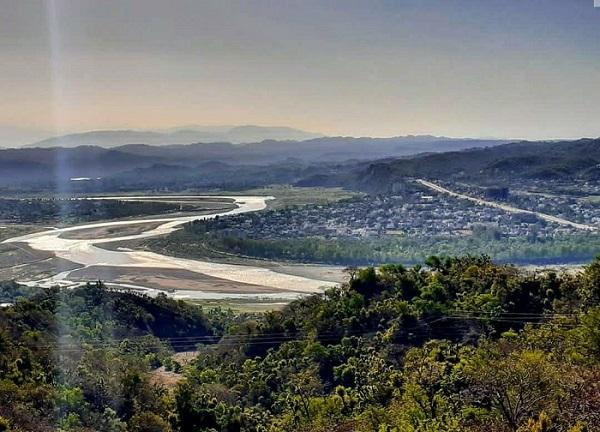 Tawi river Jammu