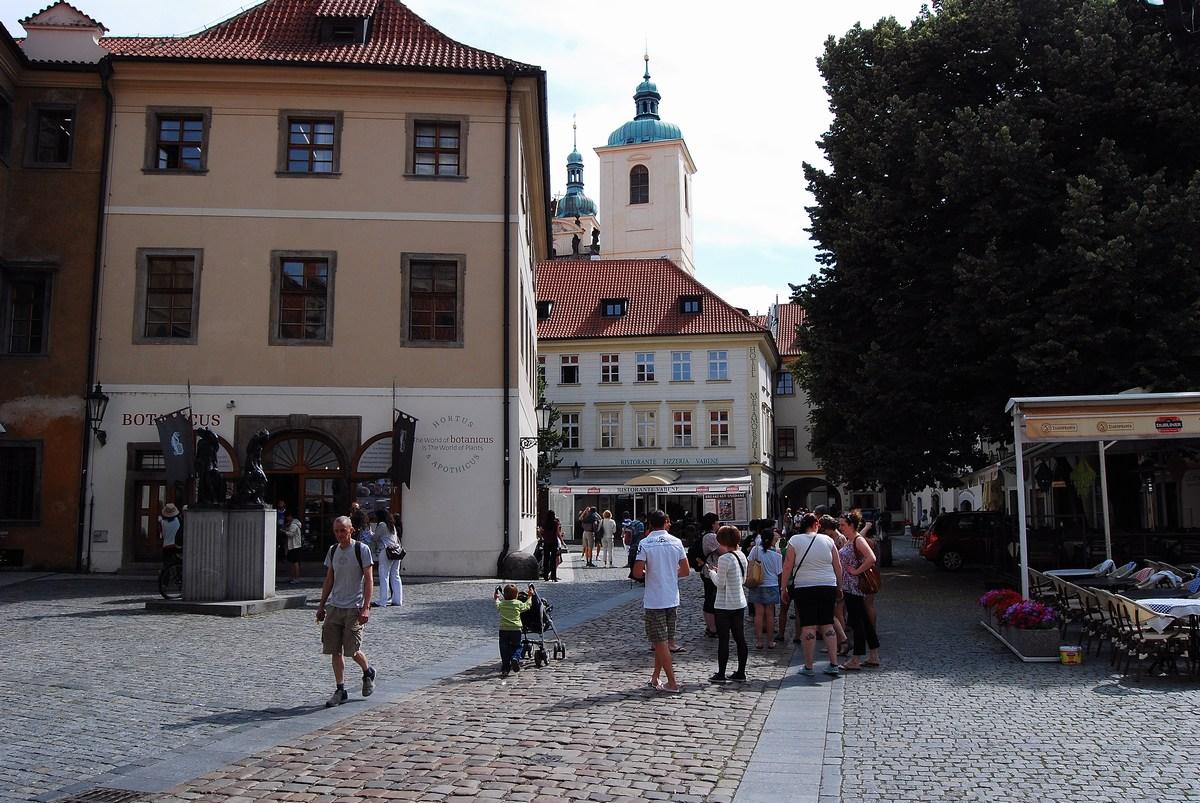 cour du Tyn  Prague