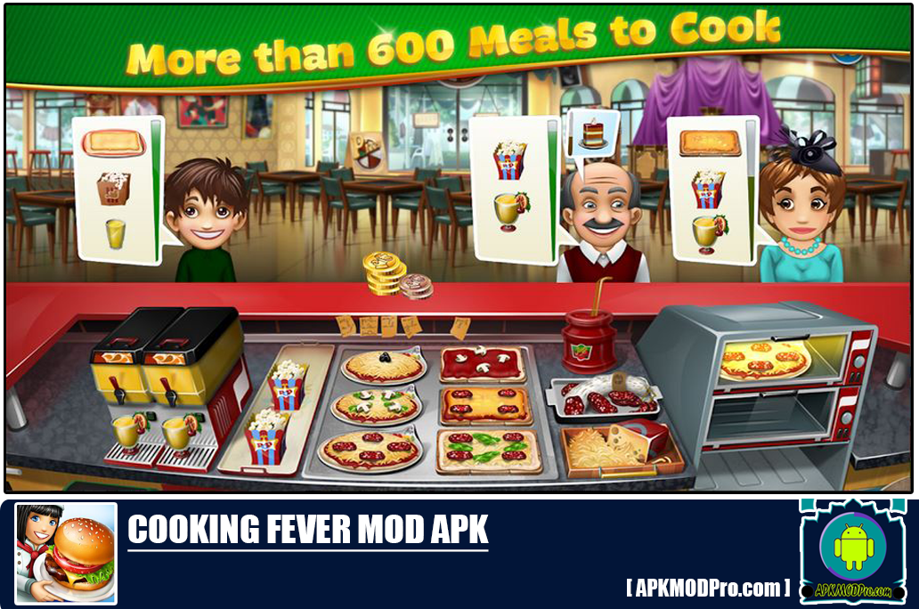 Download Cooking Fever MOD APK 7.0.1 [Unlimited Money] Terbaru 2020