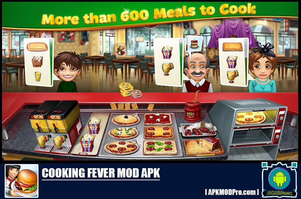 Download Cooking Fever MOD APK 7.0.1 [Unlimited Money] Terbaru 2020