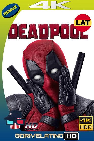 Deadpool (2016) BDRemux 4K HDR Latino-Ingles MKV