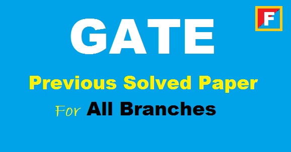 gate-previous-solved-paper