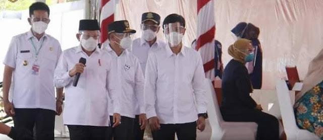 Wakil Presiden RI Apresiasi Vaksinasi Massal Di Kabupaten Barito Utara