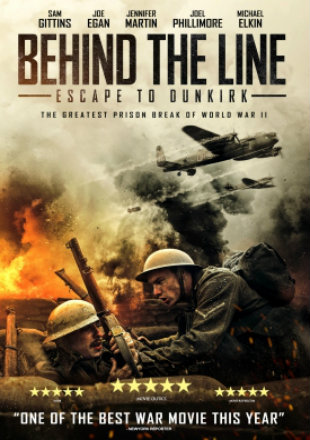 Behind the Line: Escape to Dunkirk 2020 Full Movie Download BRRip 720p Dual Audio In Hindi English