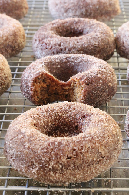 Baked Apple Butter Donuts