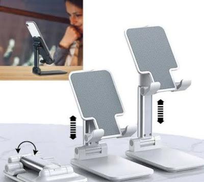 Koleksi Desain Phone Holder, Tempat Menyimpan HP di Meja Kerja