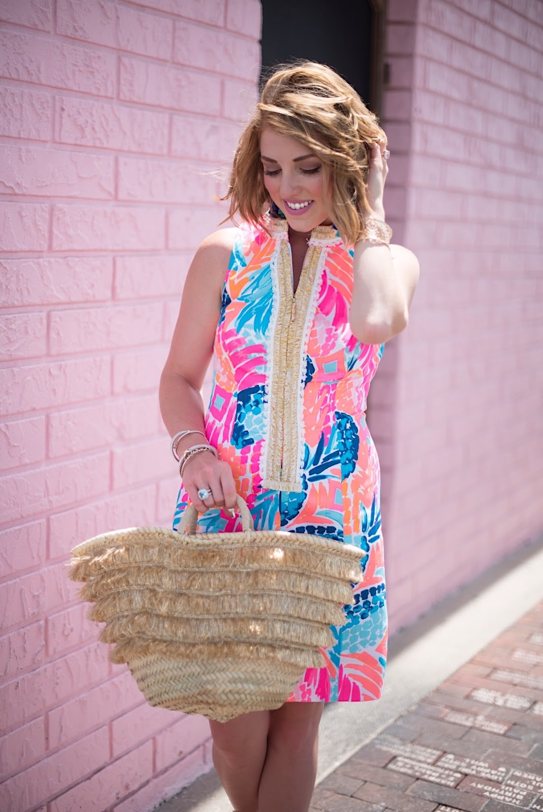 Lilly Pulitzer Alexa Shift Dress - Click through to see more on Something Delightful Blog!