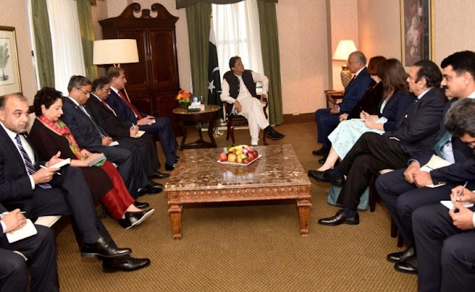 Photos: PM Imran November 74th session of the historic US visit