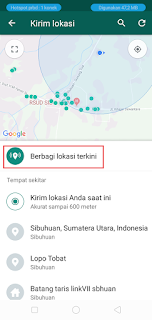Cara Share Lokasi Lewat Whatsapp Dengan Mudah