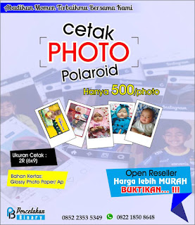 Cetak Photo Ala Polaroid