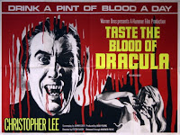 Taste the Blood of Dracula - Hammer - Tom Chantrell