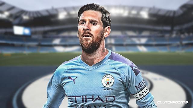 Tinggalkan Barcelona, Mega Bintang Lionel Messi Gabung Man City