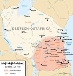 historicalville.com-Maji Maji resistance against the Germans 1905/1907