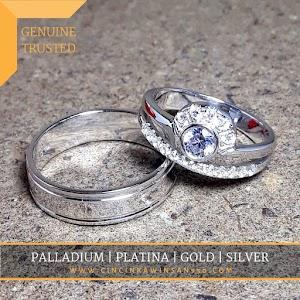 cincin kawin perak couple 565