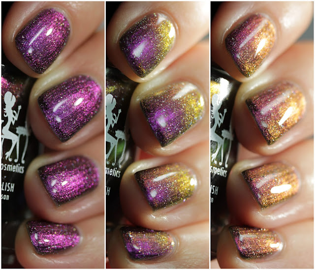 Girly Bits Hell Raisin' swatch by Streets Ahead Style