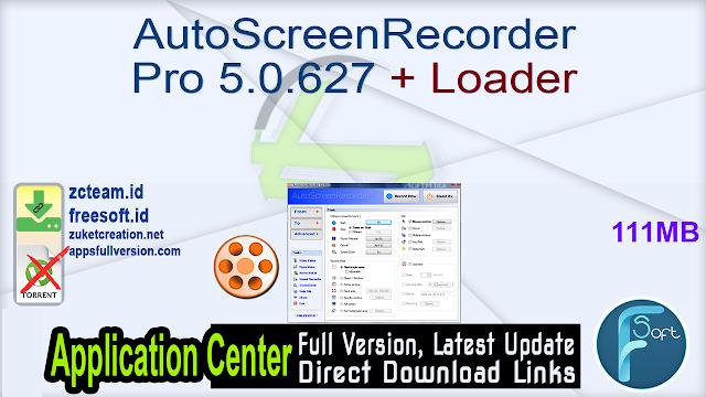 AutoScreenRecorder Pro 5.0.627 + Loader