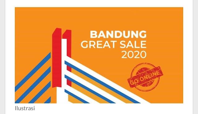 Mulai Besok, Bandung Great Sale dan Smiling West Java Great Sale 2020 Digelar Serentak