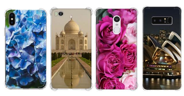 Softcase anticrack costume HP - iPhone, Samsung, Oppo, XiaoMi