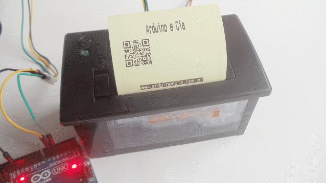 Ligue uma impressora no Arduino