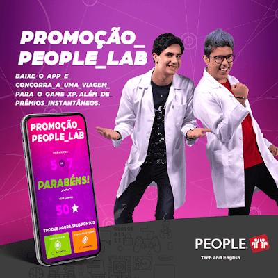 Promoção People_Lab. Baixe o app, acumule pontos e concorra a uma viagem incrível para a Game XP, no Rio de Janeiro. Você ainda pode tirar a sorte grande e ganhar prêmios instantâneos! Blog Top da Promoção @topdapromocao #topdapromocao #PeopleTechAndEnglish #NovasGerações #Inglês #PeopleLAB #games  #gamer  #gaming  #ps4  #videogames  #xbox #xboxone  #playstation  #pc  #play  #gamers #gamergirl  #ball  #ps3  #playing #gamexp