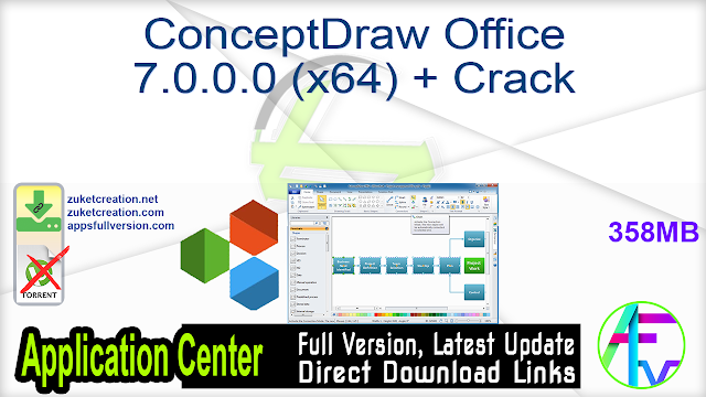 ConceptDraw Office 7.0.0.0 (x64) + Crack