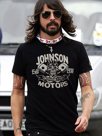 Dave Grohl Wrist Tattoos